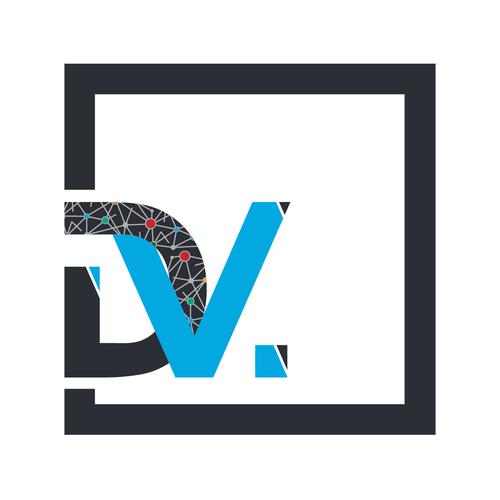 Dv square logo