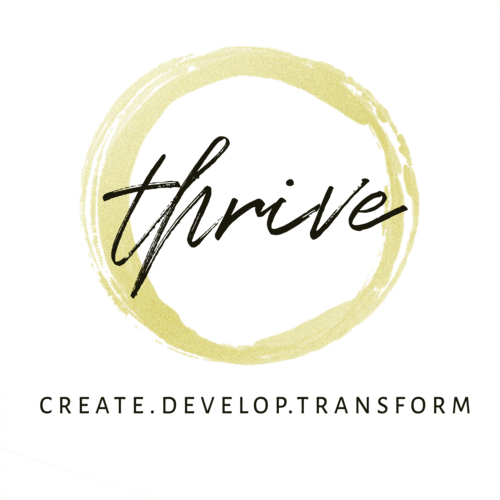 Thrive logo circle transparent